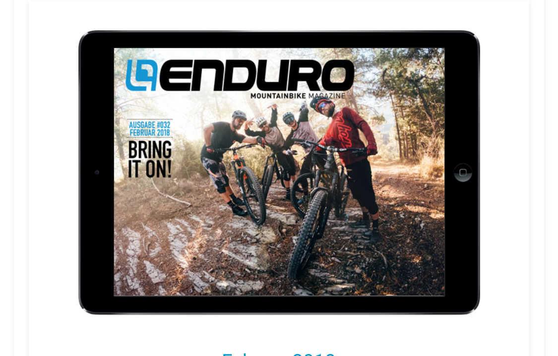 enduro mountainbike magazine kostenlos