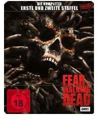 fear the walking dead staffel 1 2 limitiertes steelbook blu ray fuer 1099e statt 2299e