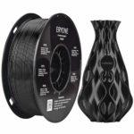 Filament PETG 1,75 mm Schwarz, ERYONE PETG Filament Für 3D-Drucker und 3D-Stift, 1 kg 1 Spool für 16 für 16,79€