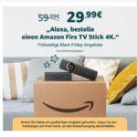 Fire TV Stick 4K + weitere Amazon Artikel reduziert (mit Alexa bestellen)