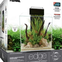 fluval edge 20 46l aquarium set weiss 160963 de