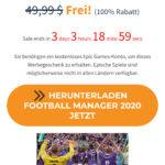 Football Manager 2020 kostenlos bei SharewareonOnSale