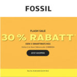 Fossil: 30% Rabatt auf GEN 5 Smartwatches