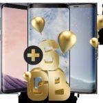 Galaxy S8 39,99€ Monatlich für 1€