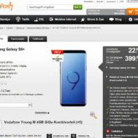 galaxy s9 mit vodafone vertrag fuer 95076 euro