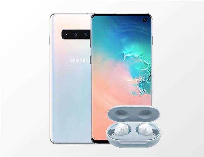 galaxy s10 with galaxy buds offer