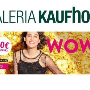 Galeria Kaufhof: 20€ Rabatt auf (fast) alles! (MBW 150