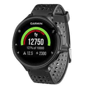 garmin forerunner 235 whr gps smartwatch fuer 169e statt 215e