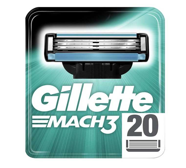 Gillette Mach3 Rasierklingen 20er Pack für 29,90€ (statt 34,51€)