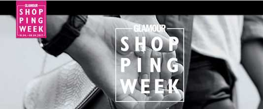 glamour shoppingweek online rabatte ohne glamour karte