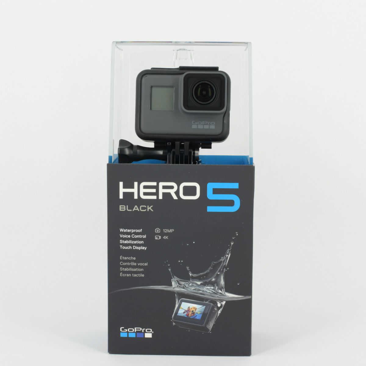 gopro hero5 black action cam 4 k uhd 2 zoll monitor in schwarz kostenloser versand 1
