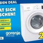 Gorenje Waschmaschine WE74S3P (Euronics XXL Soltau und Wedel)