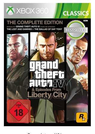 grand theft auto 4 complete edition classics xbox fuer 1299e statt 2448e