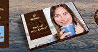 gratis 50g kaffee tchibo mit grusskarte