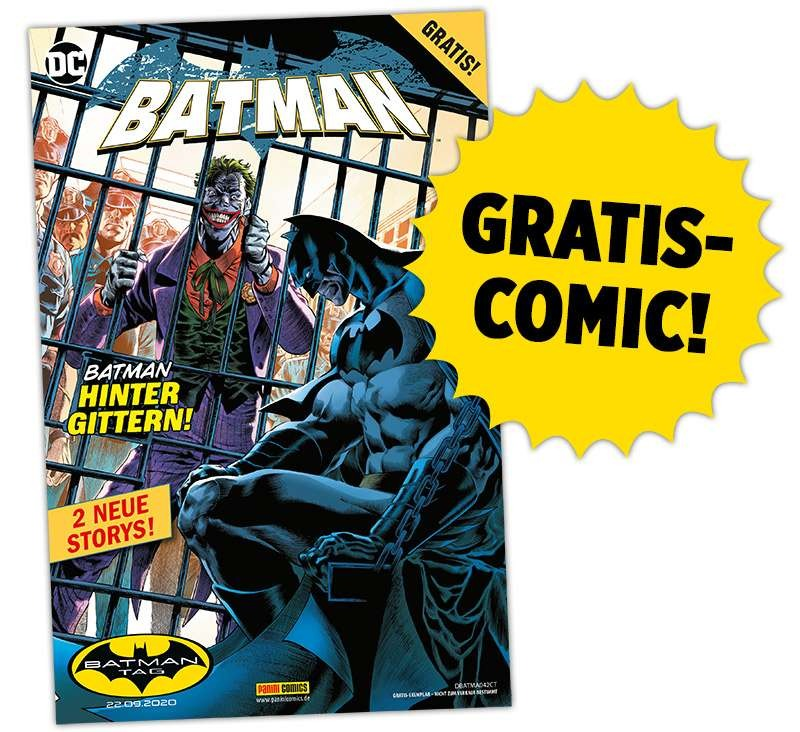 "Gratis: Batman Comic + 2 Poster zum ""Batman-Tag"" am 19.09.20"