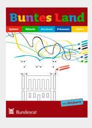 gratis buntes land mal und spielbuch fuer kinder im grundschulalter