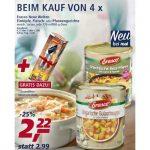 Real: gratis Dosenöffner beim Kauf von 4 Erasco-Gerichten für 4,88€