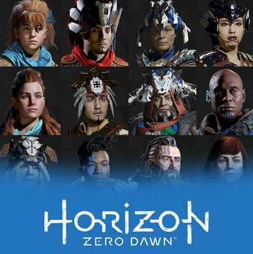 gratis horizon zero dawn ps4 avatar bundle and photo mode theme ab morgen