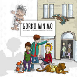 gratis kinderbuch gordo minimo inkl ausmalheft