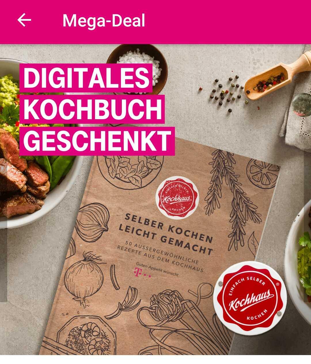gratis kochbuch als download fuer telekom kunden megadeal