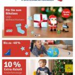 Gratis Lego Nikolaus zur Bestellung