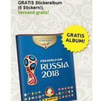gratis panini album zur fifa world cup russia 2018