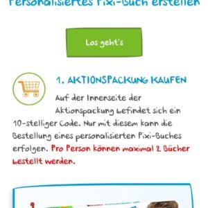 Gratis Personalisiertes Pixi Heft Beim Kauf Von Kinderschokolade