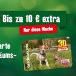 Gratis Tragetasche bei Fressnapf + 5€ oder 10€ Gutscheinkarte geschenkt bekommen beim Kauf von Geschenkkarten