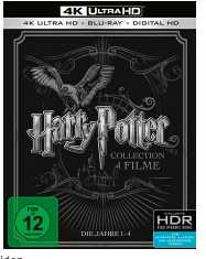 harry potter 1 4 exklusiv 4k ultra hd blu ray fuer 6599e statt 11198e