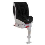 Hauck Kindersitz Varioguard Plus + Basisstation (Isofix) in schwarz