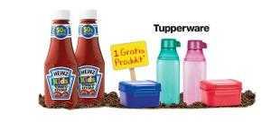 heinz schulstart aktion gratis tupperware praemie bei kauf von 2 heinz kids ketchup