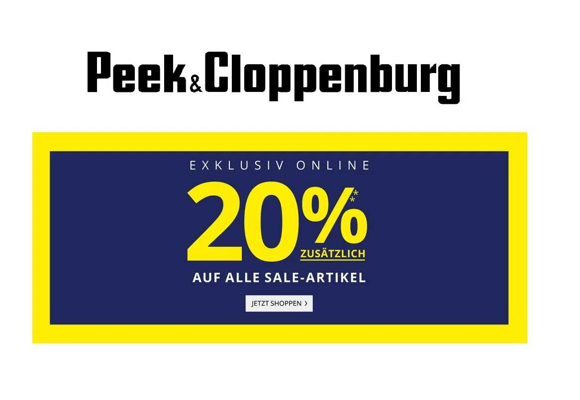 Peek Und Cloppenburg Coupon