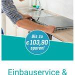 Lieferung + Einbau (Siemens) gratis