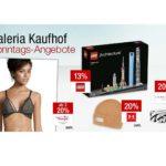 Galeria Kaufhof Sonntagsangebote, z.B. 20% Rabatt auf Puma