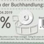 Hugendubel-Filialen: 20% Rabatt auf DVDs bis 20.04.2019