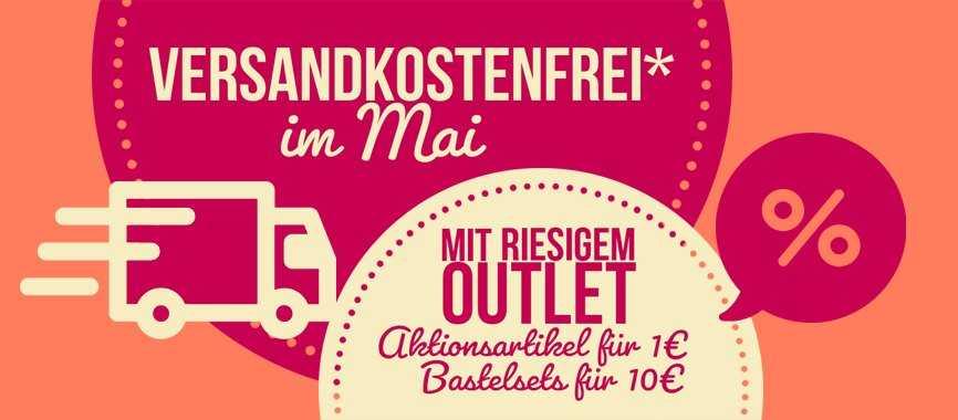 Ideen mit Herz: Bastelsets für 9 Euro & 9-€-Outlet, Versand