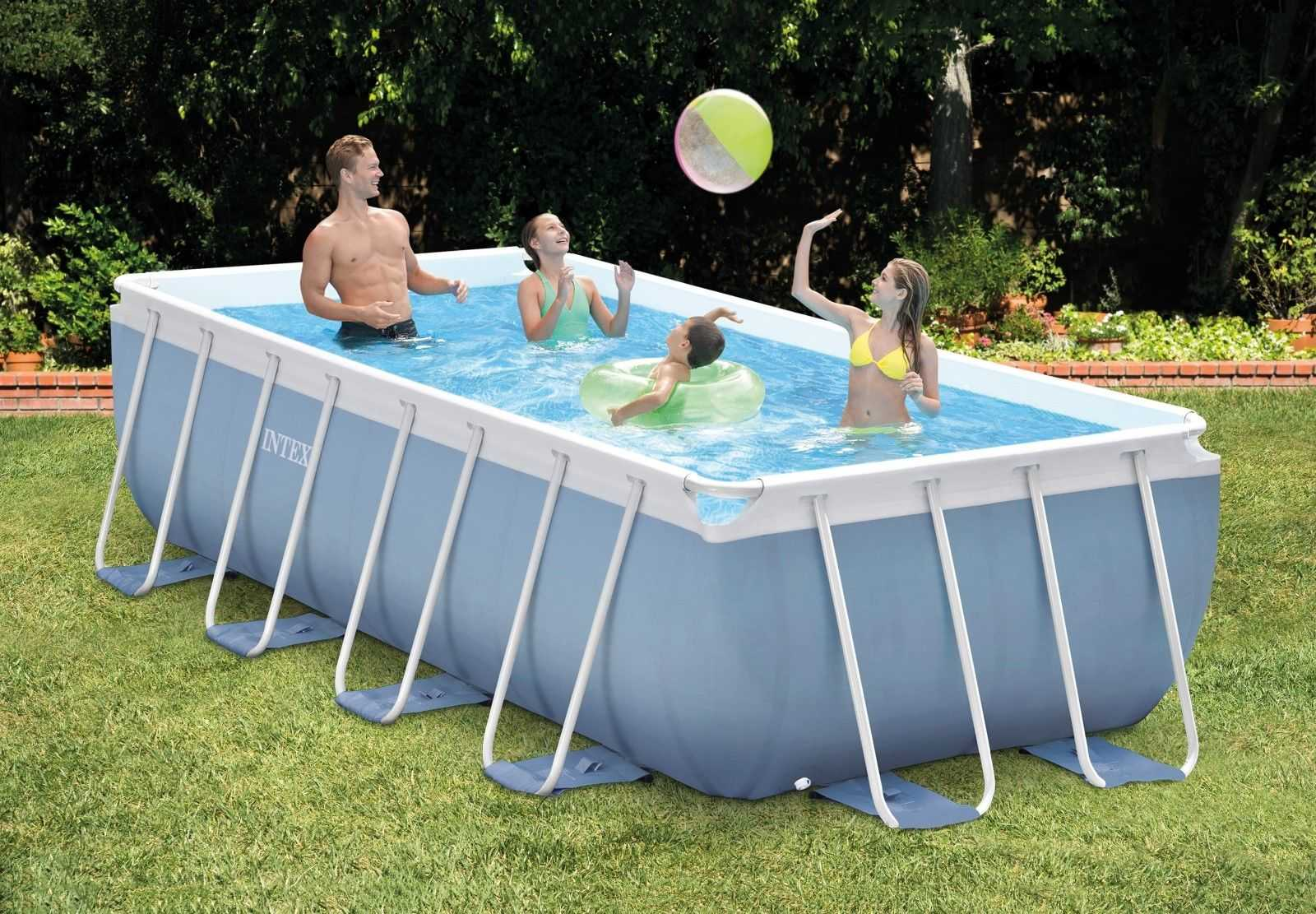 intex frame pool set prism quadra 300 x 175 x 80 ebay fuer 259 e statt 359 e