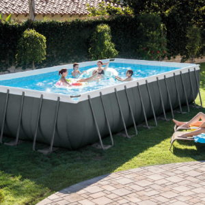 intex frame pool ultra quadra xtr 732 x 366 x 132 cm set a 444914 de