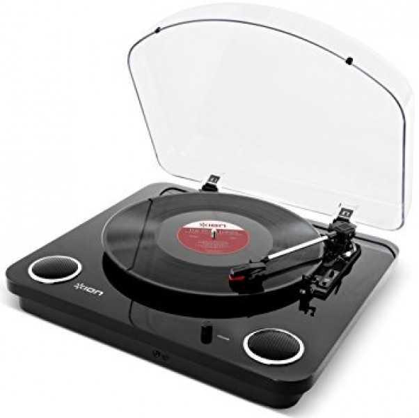 ion audio air lp usb plattenspieler mit bluetooth sender schwarz fuer 6999 e statt 8898 e