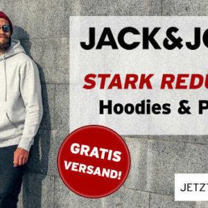 jack jones sweatshirts hoodies mit bis zu 40 rabatt gratisversand