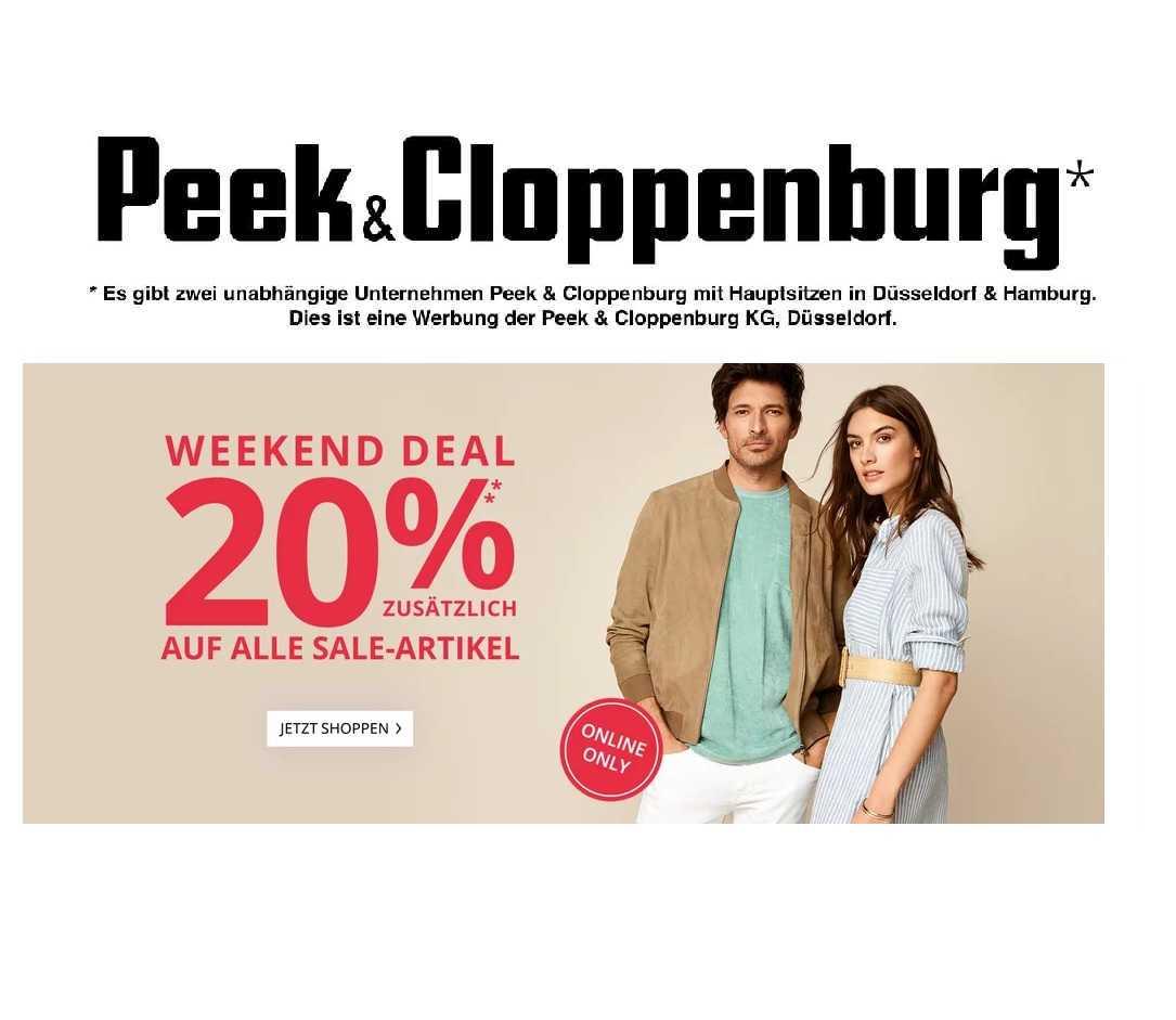 Peek & Cloppenburg Rabatt