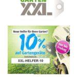 Jetzt bei Gartenxxl: 10% Rabatt auf Gartengeräte!