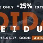 SportScheck: 25% Rabatt auf Adidas-Kleidung!