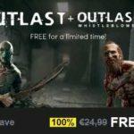Jetzt kostenlos spielen: Outlast + Whistleblower DLC im steam!