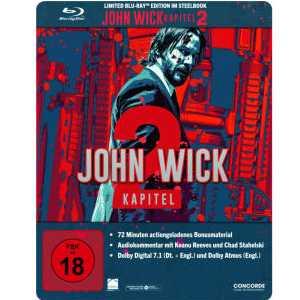 john wick kapitel 2 steelbook blu ray limited edition fuer 999e statt 1699e