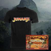 jumanji bundle t shirt und brettspiel fuer 2148e