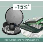 Karstadt: 15 % Rabatt auf Reisegepäck, Koch- und Backzubehör und Make-Up