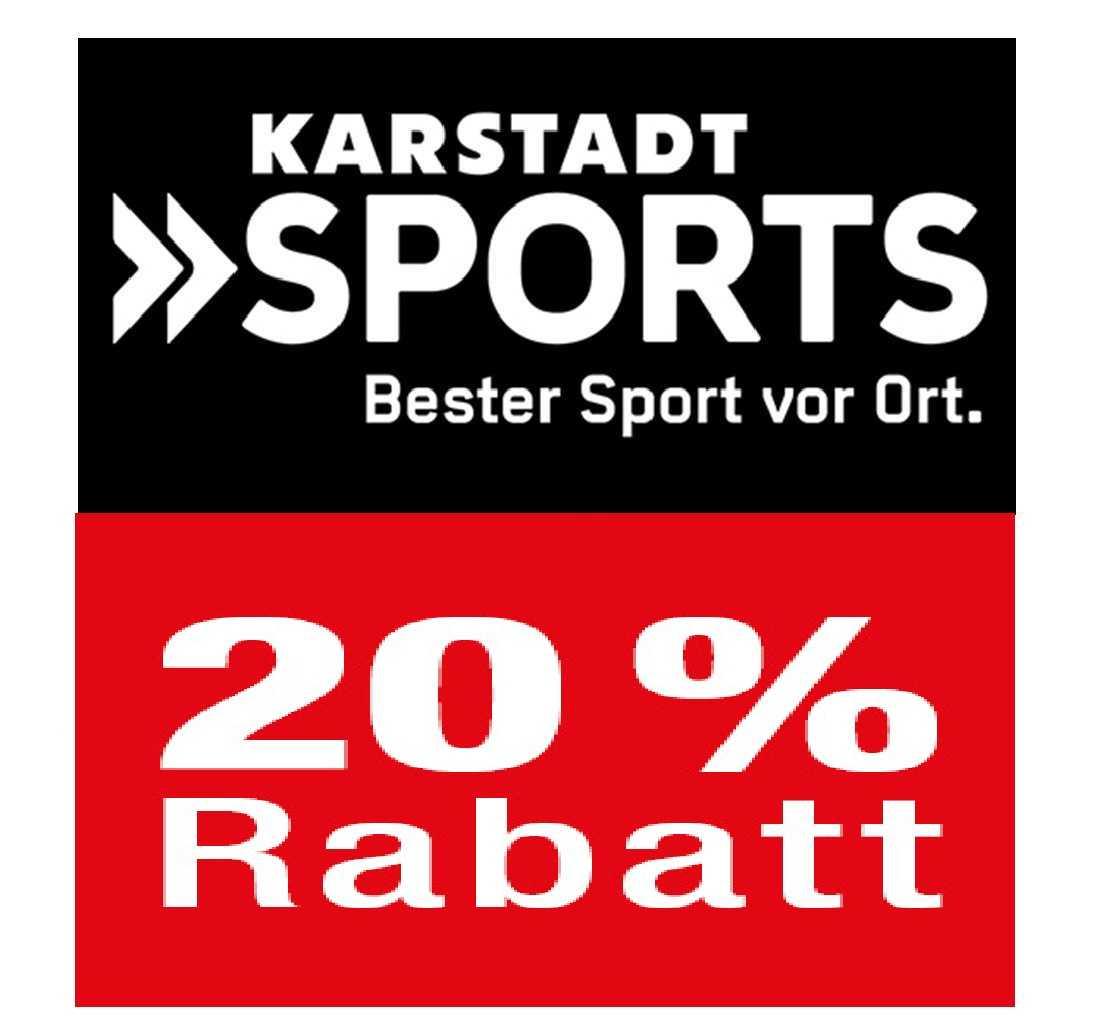 Karstadt Sport: 20% Rabatt auf (fast) alles Auch im Sale