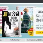Kauf 4, zahl 3 – Aktion bei bücher.de für Taschenbücher