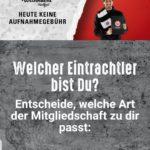 Keine Aufnahmegebühr für neue Eintracht Frankfurt Mitglieder *heute*